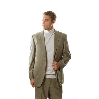 Caravelli Italy Men's Barley Beige 2-piece Suit