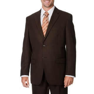 Caravelli Italy Men's Brown 2-piece Suit