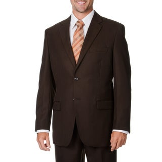 Caravelli Italy Men's Brown 2-piece Suit