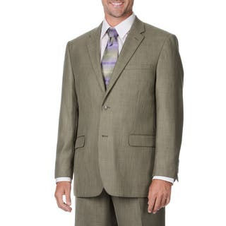Caravelli Italy Men's Taupe 2-piece Suit|https://ak1.ostkcdn.com/images/products/9441404/P16626733.jpg?impolicy=medium