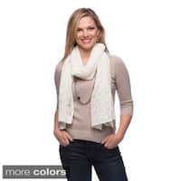 Enzo MantovaniCrocheted Cashmere Blend Shawl in Gift Box