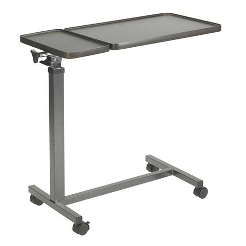 Drive Medical Multi-Purpose Tilt-Top Split Overbed Table