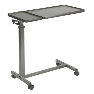 Drive Medical Multi-Purpose Tilt-Top Split Overbed Table