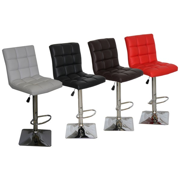 Landon Adjustable Swivel Bar Stools (Set of 2)  sc 1 st  Overstock.com : adjustable swivel stools - islam-shia.org