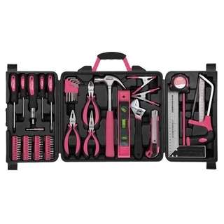 Apollo 71 Piece Household Tool Kit Pink