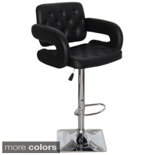 Olivia Adjustable Swivel Bar Stool  sc 1 st  Overstock.com & Adjustable Bar u0026 Counter Stools - Shop The Best Deals for Nov 2017 ... islam-shia.org