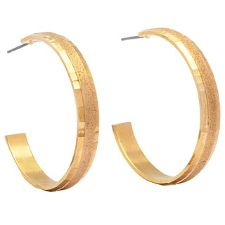 Alexa Starr Gold Dust Hoop Earrings