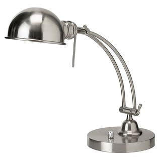 Satin Chrome Adjustable Arm and Shade Pharmacy Desk Lamp|https://ak1.ostkcdn.com/images/products/9441841/P16627128.jpg?impolicy=medium