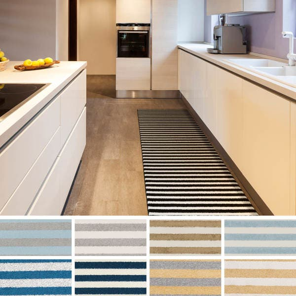 Shop Emerson Narrow Striped Runner Rug - Free Shipping Today ...