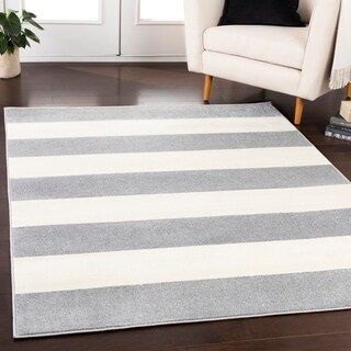 Buy Grey Stripe Area Rugs Online At Overstock Our Best Rugs Deals