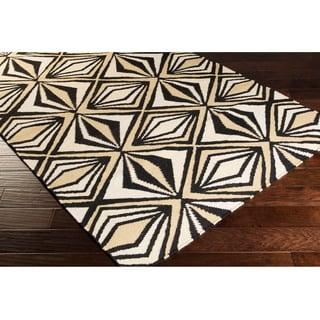 Tate Flatweave Reversible Geometric Area Rug (2'6 x 8')