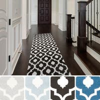 Pax Contemporary Trellis Runner Rug