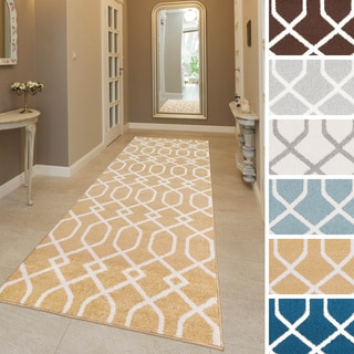 Contemporary Kesha Geometric Runner-(2'3 x 7'3)