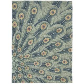 Nourison Moda Peacock Animal Rug (7'6 x 9'6)