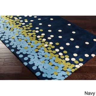 Meticulously Woven Dottie Contemporary Area Rug (8' x 11')