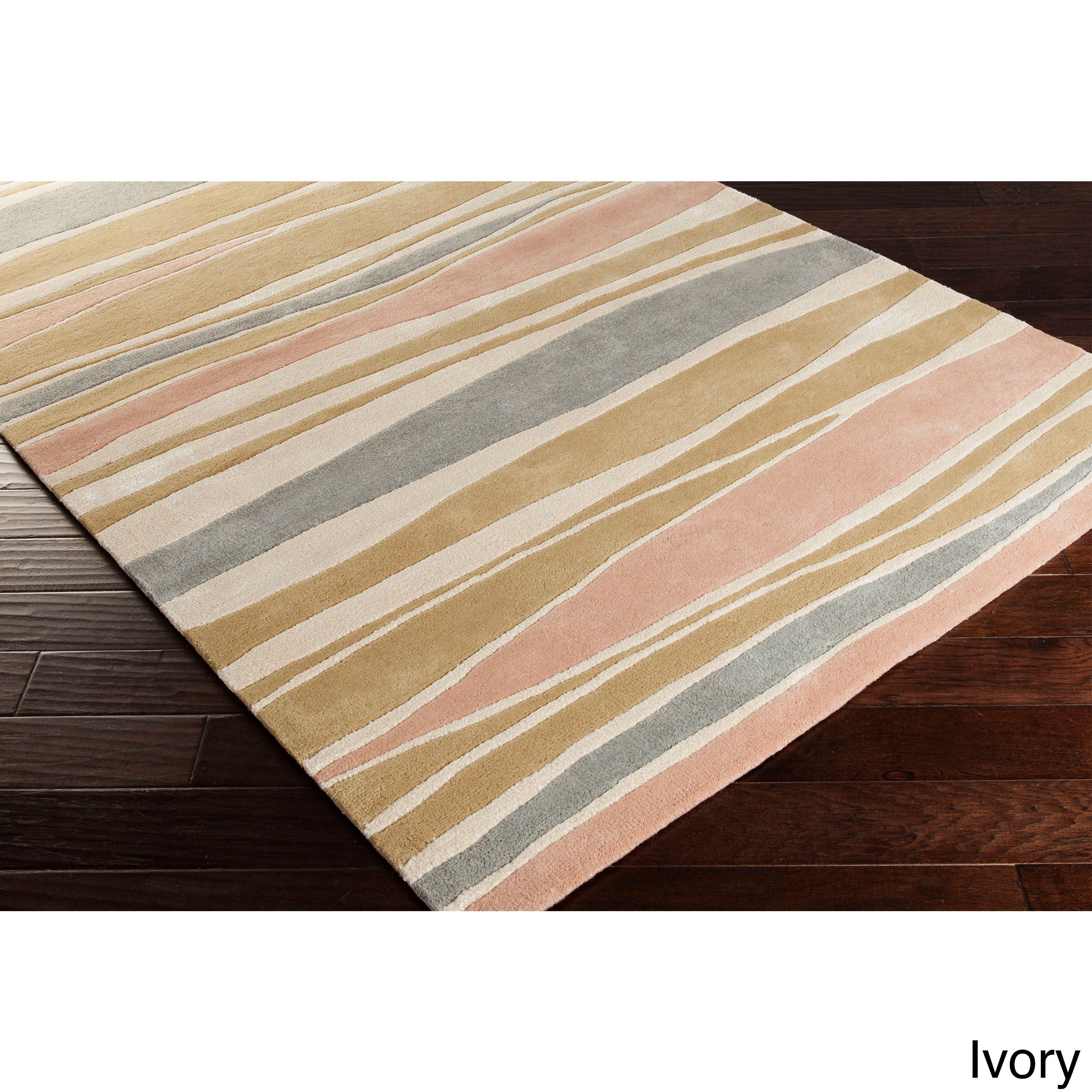 Cordelia Striped Wool Accent Rug (2' x 3')