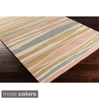 Cordelia Striped Wool Accent Rug (2' x 3') - Thumbnail 0