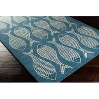 Gilbert Coastal Wool Area Rug