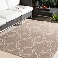 Natasha Contemporary Trellis Indoor/ Outdoor Area Rug - 8'9 x 12'9
