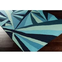 Quentin Flatweave Reversible Abstract Area Rug - 5' x 8'