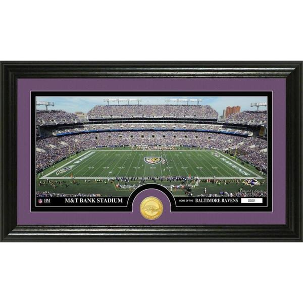 "NFL Baltimore Ravens ""Stadium"" Bronze Coin Panoramic Photo Mint"