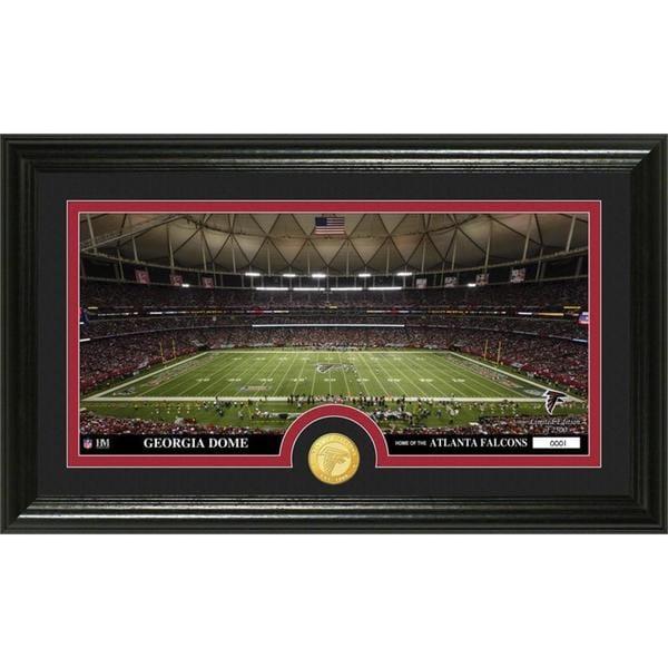 "NFL Atlanta Falcons ""Stadium"" Bronze Coin Panoramic Photo Mint"