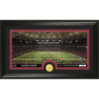 "NFL Atlanta Falcons ""Stadium"" Bronze Coin Panoramic Photo Mint"