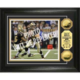 NFL Drew Brees Super Bowl 44 MVP Gold Coin Photo Mint|https://ak1.ostkcdn.com/images/products/9442245/P16627434.jpg?impolicy=medium