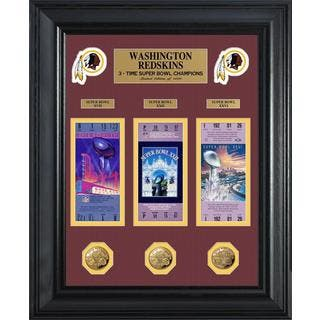 NFL Washington Redskins Super Bowl Ticket and Game Coin Collectible Frame|https://ak1.ostkcdn.com/images/products/9442249/P16627438.jpg?impolicy=medium
