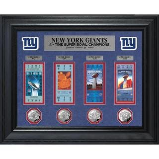 NFL New York Giants Super Bowl Ticket and Game Coin Collection Framed|https://ak1.ostkcdn.com/images/products/9442257/P16627445.jpg?impolicy=medium