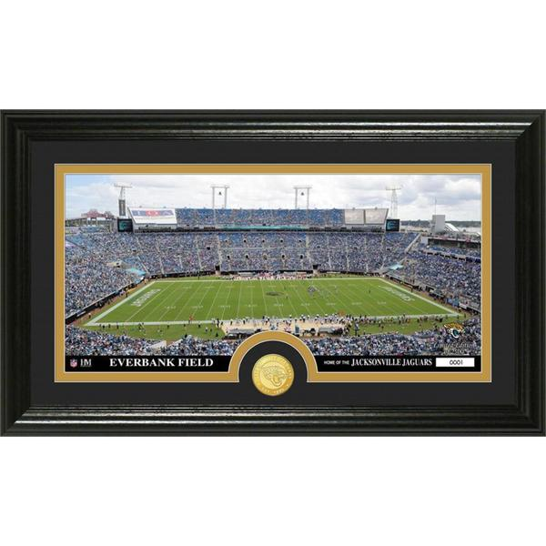 "NFL Jacksonville Jaguars ""Stadium"" Bronze Coin Panoramic Photo Mint"