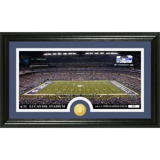 "NFL Indianapolis Colts ""Stadium"" Bronze Coin Panoramic Photo Mint"
