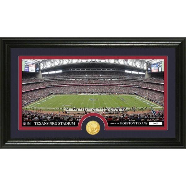 "NFL Houston Texans ""Stadium"" Bronze Coin Panoramic Photo Mint"
