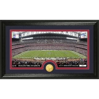 "NFL Houston Texans ""Stadium"" Bronze Coin Panoramic Photo Mint"