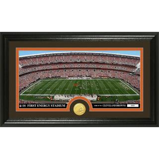 "NFL Cleveland Browns ""Stadium"" Bronze Coin Panoramic Photo Mint"