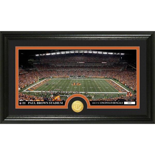 "NFL Cincinnati Bengals ""Stadium"" Bronze Coin Panoramic Photo Mint"