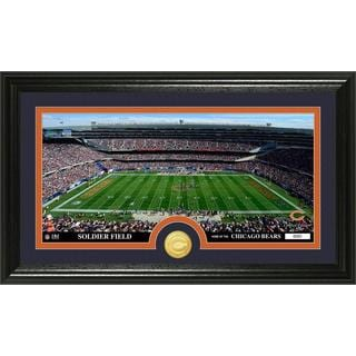 "NFL Chicago Bears ""Stadium"" Bronze Coin Panoramic Photo Mint"