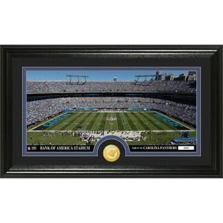 """NFL Carolina Panthers """"Stadium"""" Bronze Coin Panoramic Photo Mint"""