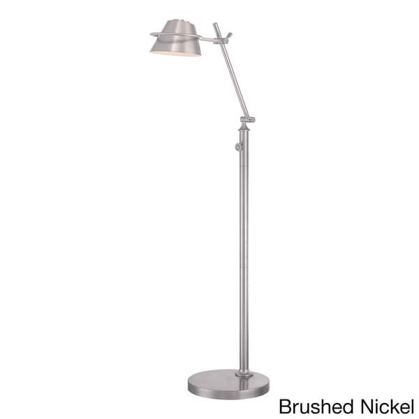 Quoizel Spencer Modern Adjustable Head Led Floor Lamp