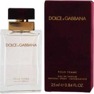 Dolce & Gabbana Pour Femme Women's 0.85-ounce Eau de Parfum Spray