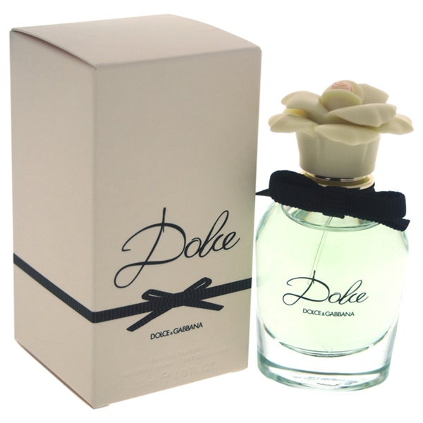 shop dolce gabbana dolce women 39 s 1 ounce eau de parfum spray free shipping on orders over. Black Bedroom Furniture Sets. Home Design Ideas