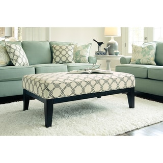 Signature Design by Ashley Daystar Seafoam Oversided Accent Ottoman
