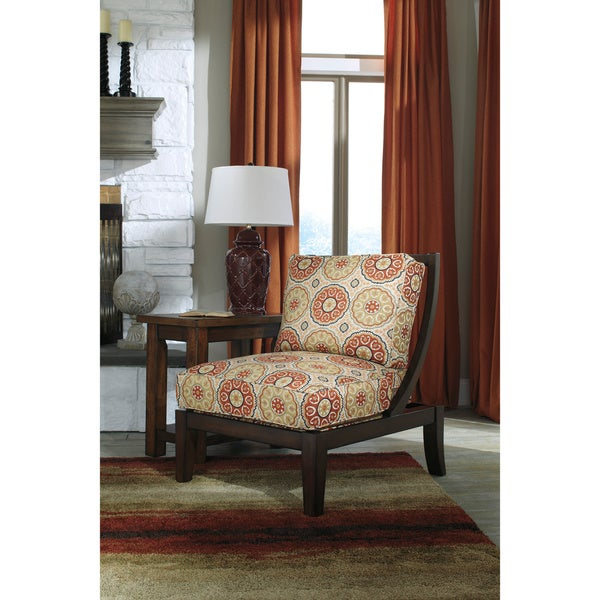 Signature Design By Ashley Sevan Sand Accent Chair Free