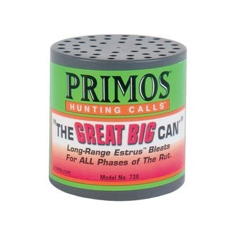 Primos 'The Great Big Can' Long-range Estrus Bleats Call