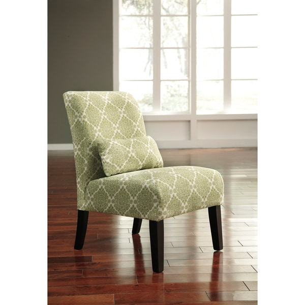 Shop Annora Kelly Green Accent Chair Free Shipping Today