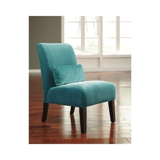 Signature Design by Ashley Annora Teal Accent Chair