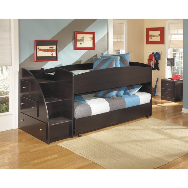 embrace loft bed set with loft caster bed free shipping today