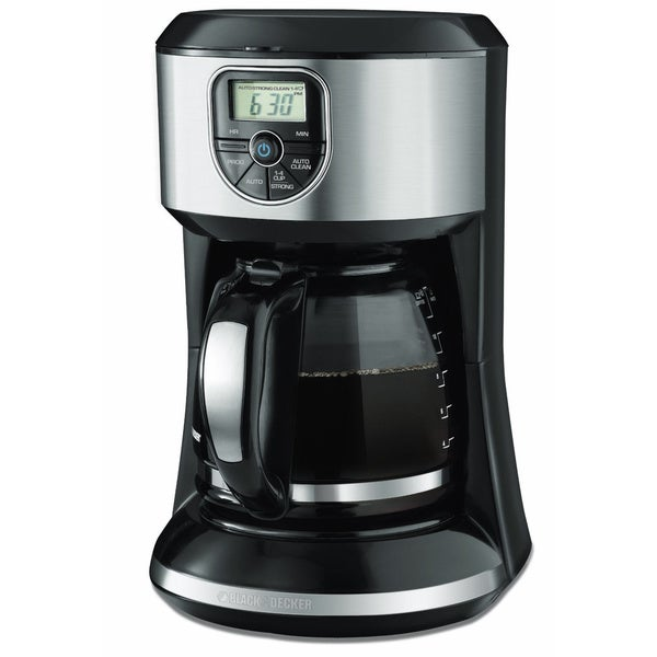 Black and Decker 12-cup Program Coffee Maker - Free Shipping Today - Overstock.com - 16627808