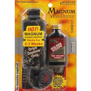 Wildlife Research Center Magnum Golden-scrape 4-ounce Dripper Combo