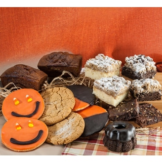 Halloween Pumpkin Assorted Gift Basket